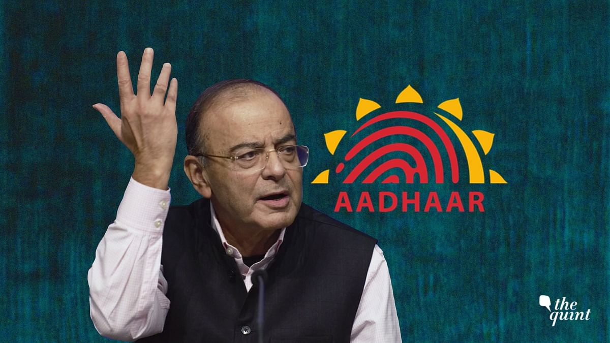 Finance Minister Arun Jaitley writes about Aadhaar, its inception, the NDA's role and its benefits.