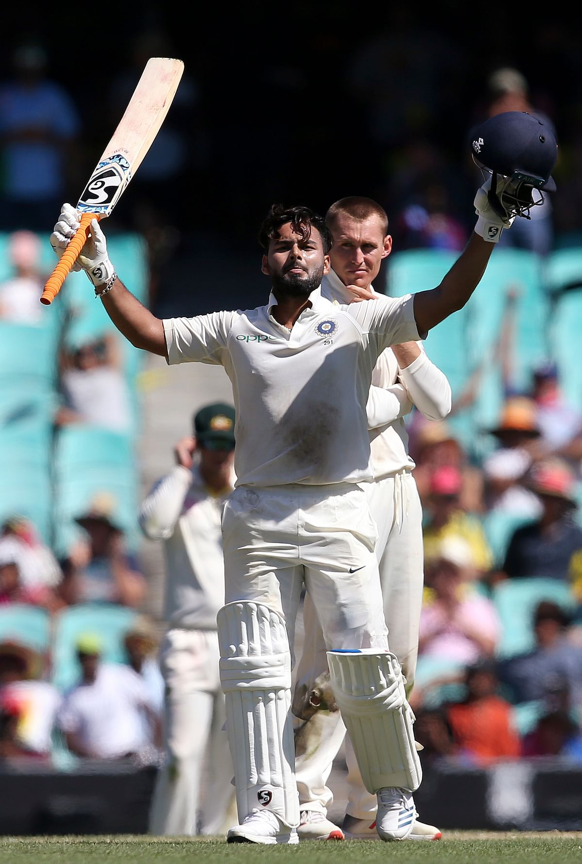 Rishabh Pant finished the Test series as India's second-highest scorer.