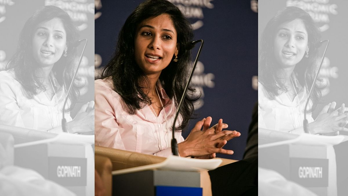 India's High Fiscal Deficit Cause of Concern: Gita Gopinath at WEF