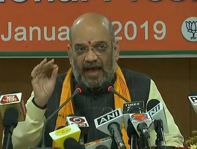 Defence, development will be BJP's poll planks in Lok Sabha polls: Amit Shah