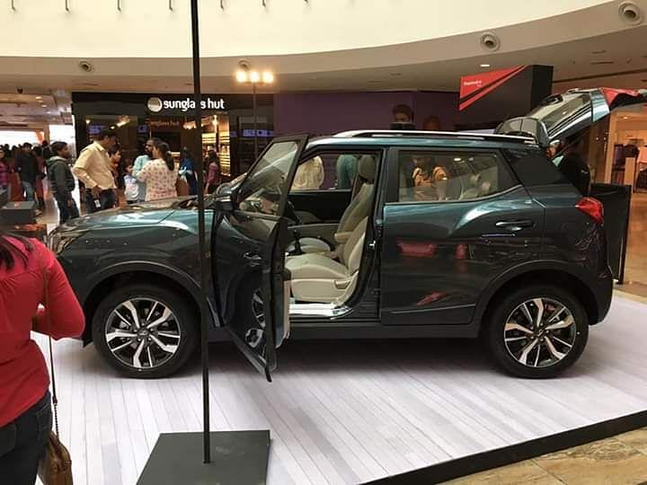 The Mahindra XUV300 has a 2,600 mm wheelbase, freeing up plenty of interior space.