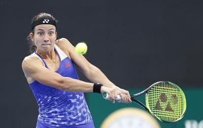 Anastasija Sevastova. (File Photo: Xinhua/Jia Haocheng/IANS)