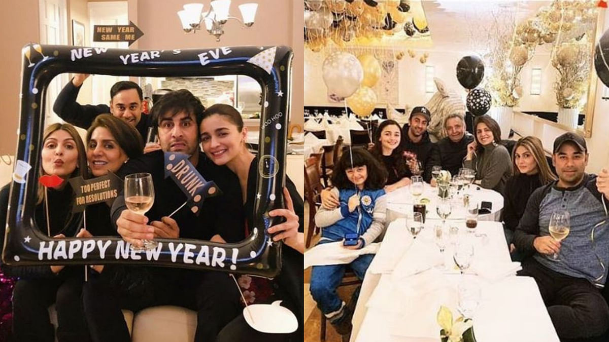 Alia Joins Ranbir and His Family in NYC for New Year Celebrations