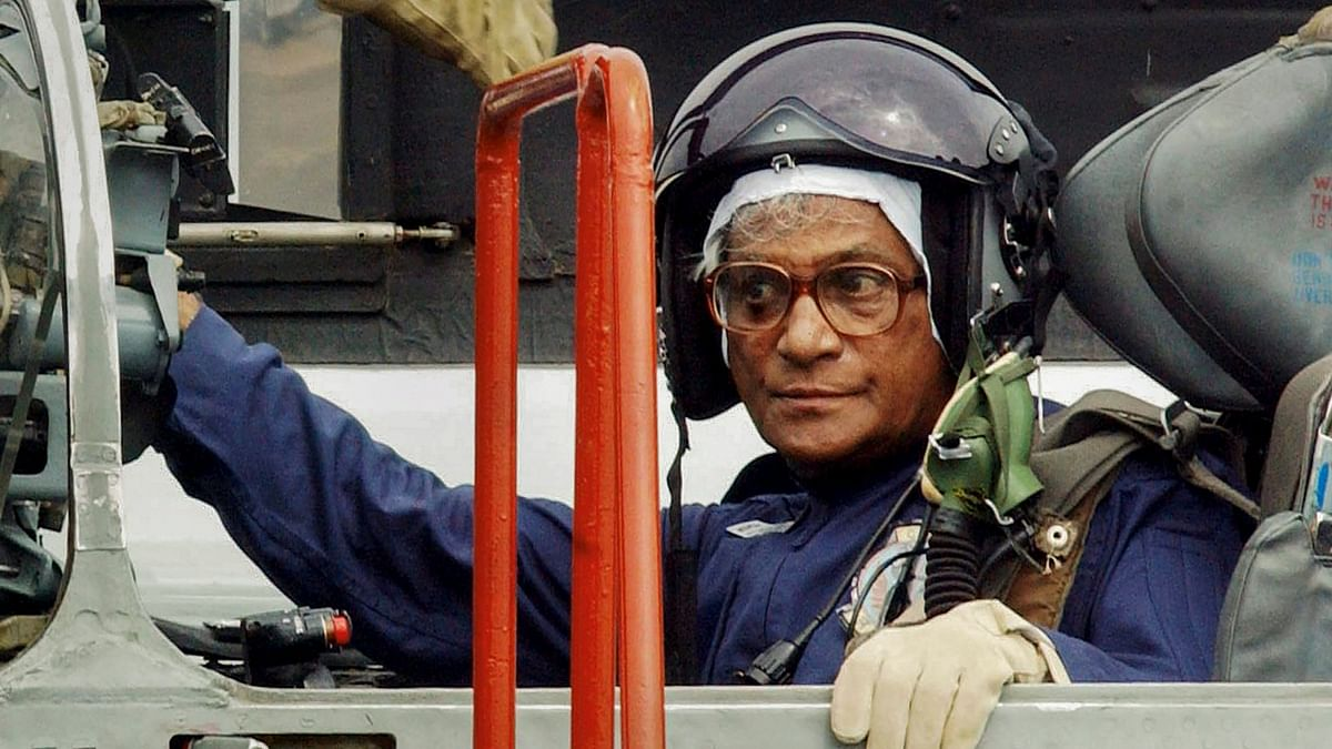 A file photo of George Fernandes.