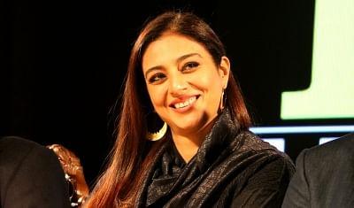 Srinagar: Actress Tabu at the fourth edition of Kashmir World Film Festival (KWFF) in Srinagar, on Nov 28, 2018. (Photo: IANS)