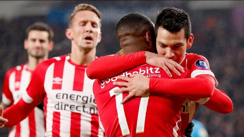 Spanish prosecutors are seeking a one-year prison sentence for each of the three PSV Eindhoven fans being accused of mocking beggars.