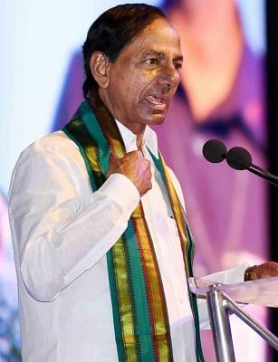 Telangana Chief Minister K. Chandrashekhar Rao. (File Photo: IANS)