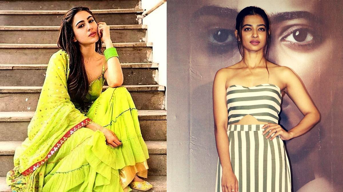 Sara Ali Khan vs Radhika Apte.