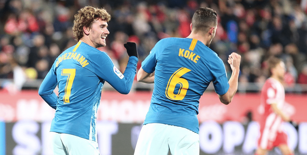 Despite playing with Antoine Griezmann for nearly an hour, Atletico Madrid couldn't manage more than a 1-1 draw at Girona.
