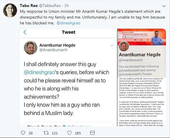 Twitter Calls Out Anant Hegde And Siddaramaiah For Demeaning Women