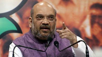 BJP chief Amit Shah.