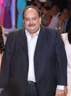 Managing Director of Gitanjali Gems Mehul Choksi. (File Photo: IANS)