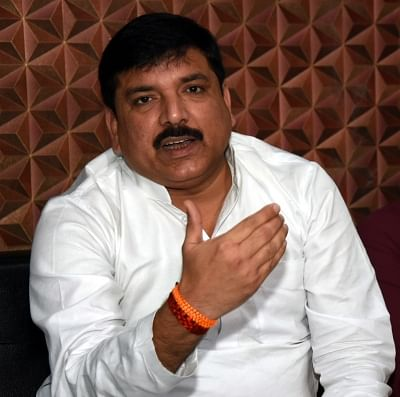 Congress not a challenge for AAP: Sanjay Singh