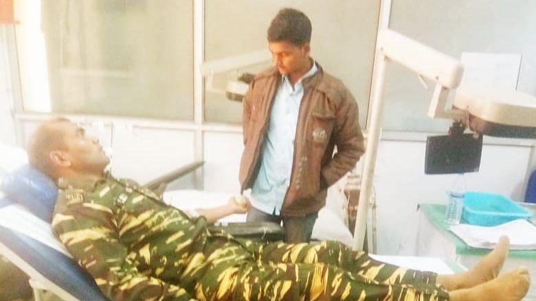 CRPF Jawan Melts Hearts by Donating Blood to Save Life of Naxal
