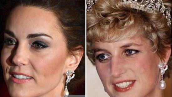 OMG, Kate Middleton Wore Princess Diana's  Earrings to The BAFTA!