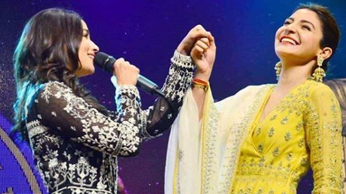 Alia Bhatt and Anushka Sharma.