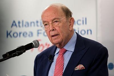 U.S. Secretary of Commerce Wilbur Ross. (Xinhua/Ting Shen/IANS)