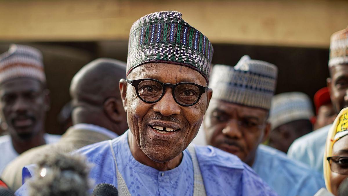 File photo of Nigerian President Muhammadu Buhari