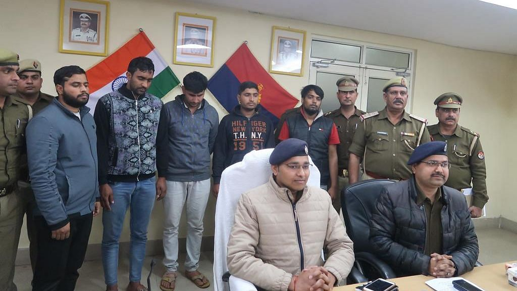 Noida Police Arrest Five For Shooting, Injuring Oppo Factory Guard