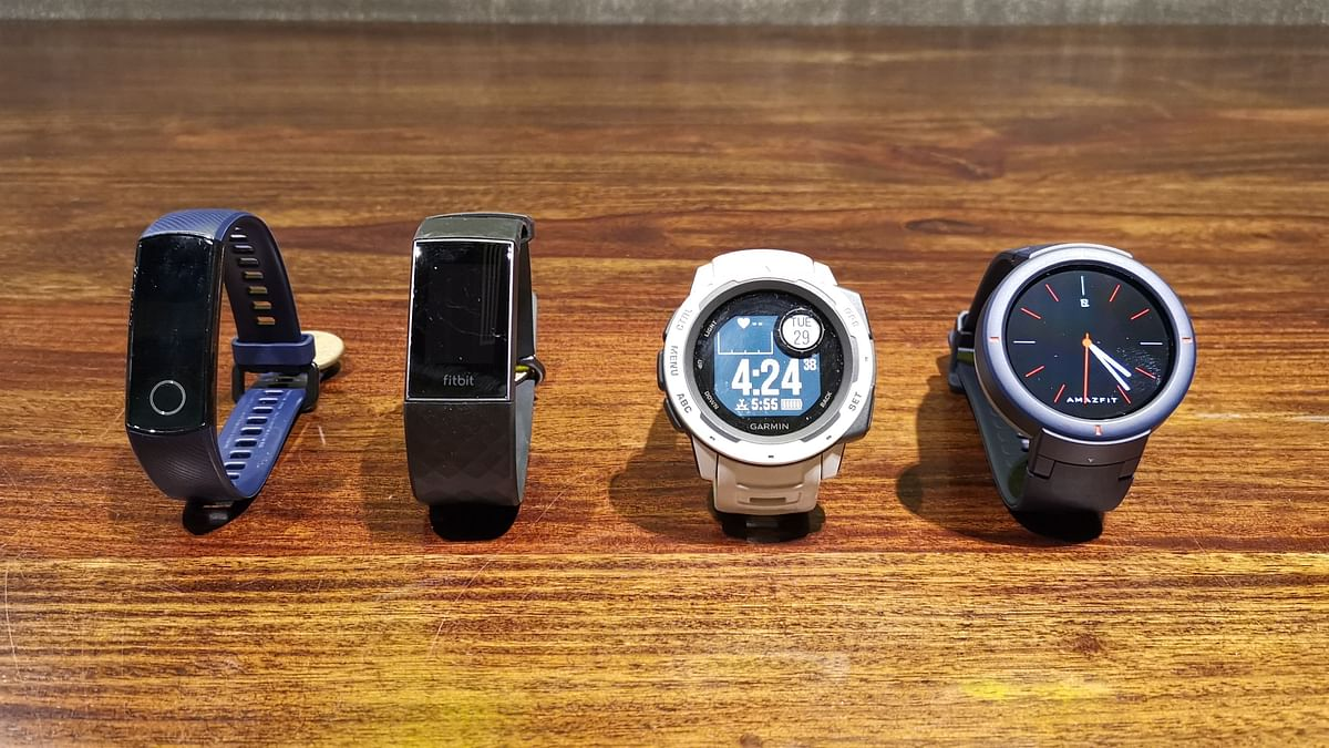 Take your pick. Top fitness trackers in the Indian market.
