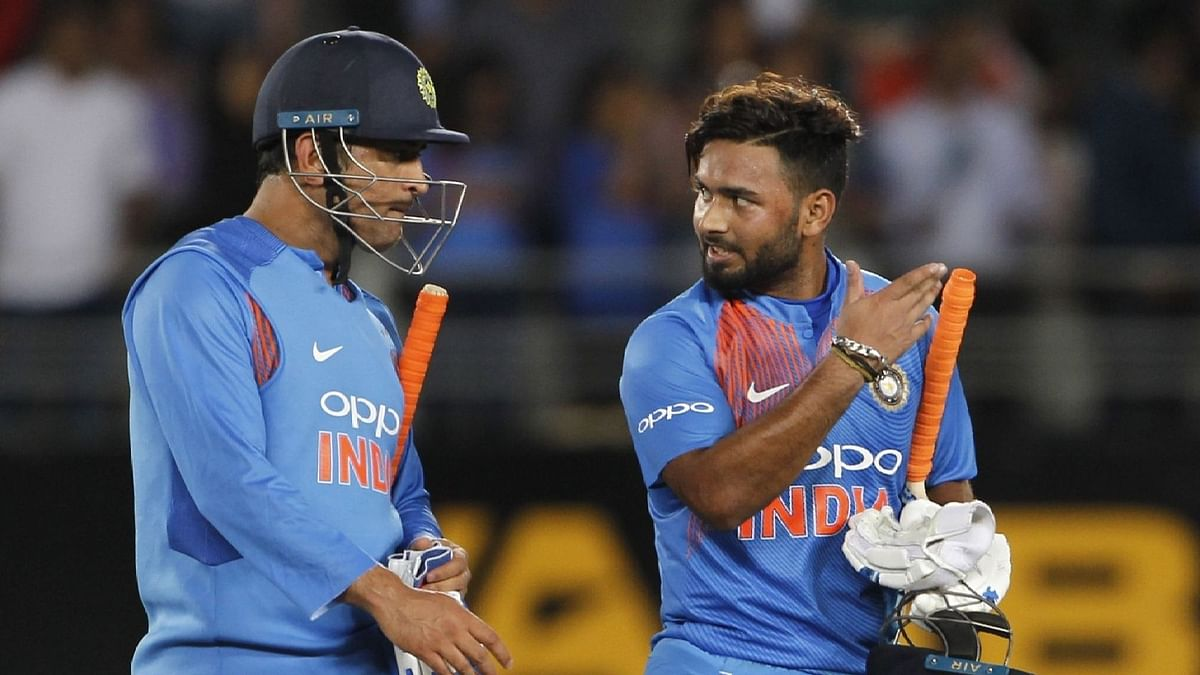 Rishabh Pant (right) is in contention for a World Cup spot, chairman of selectors MSK Prasad has said.