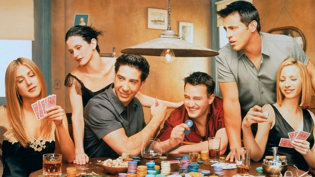 Image from popular TV show 'Friends'.
