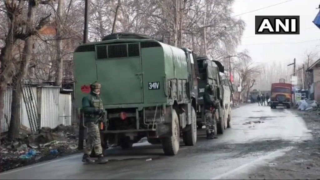 4 Army Men, Civilian Killed in Encounter in J&K's Pulwama
