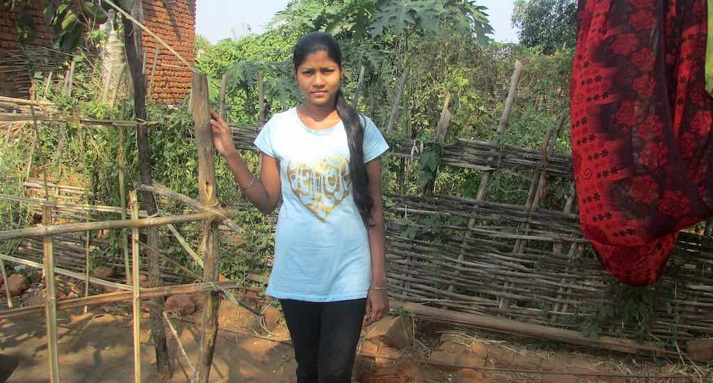 Jagyaseni Patra, a girls' group leader, finds the balika mandal an ideal platform to discuss about education and aspirations.