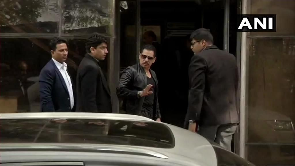 Robert Vadra appears before ED for the fifth time.
