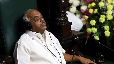 Karnataka Speaker Ramesh Kumar Compares Himself to Rape Survivor
