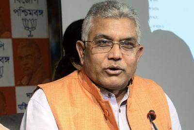 West Bengal BJP President Dilip Ghosh. (Photo: IANS)