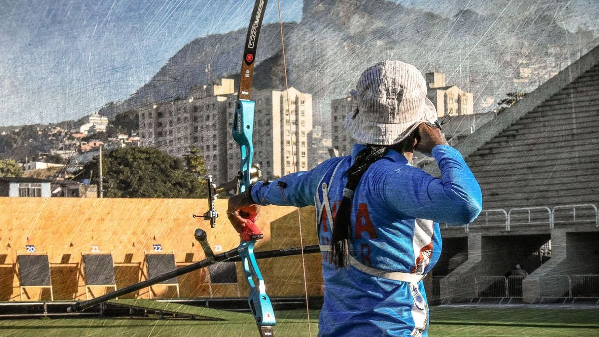 Before the five-month suspension was conditionally lifted by World Archery in January, Indian athletes participated under a neutral flag.