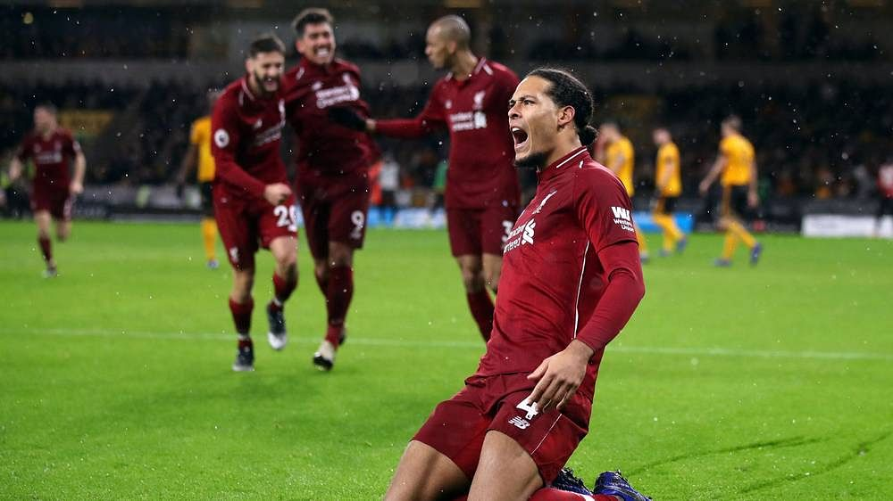 Defender Virgil van Dijk, central to Liverpool's successes this season, will miss the first leg against Bayern Munich as he serves out a one-match UEFA ban.