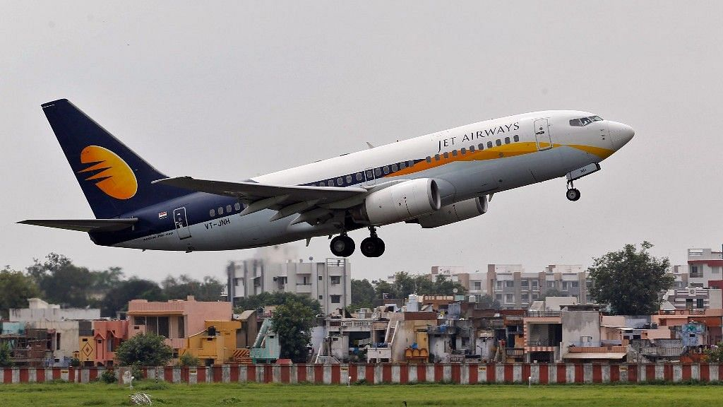 A Jet Airways passenger aircraft takes off from the airport. Image used for representational purposes.