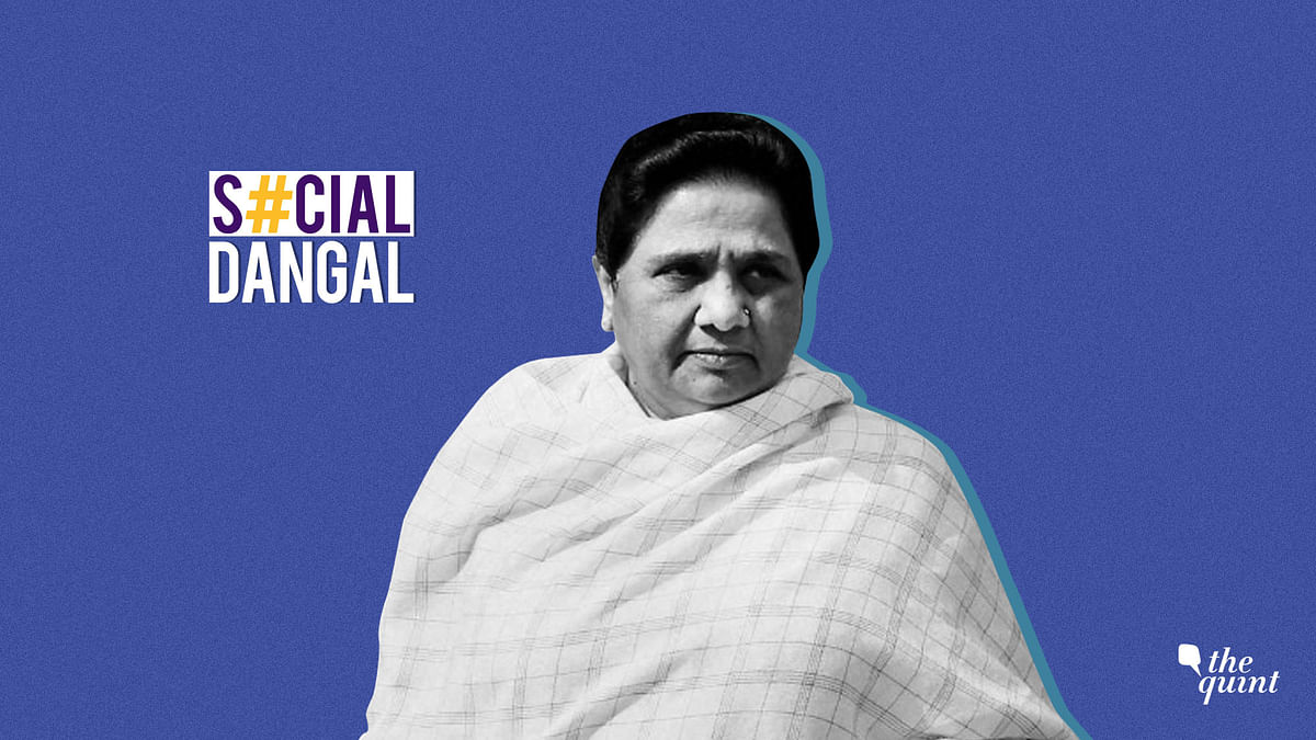 Mayawati, who joined Twitter last month, has had to face casteist and racist attacks.