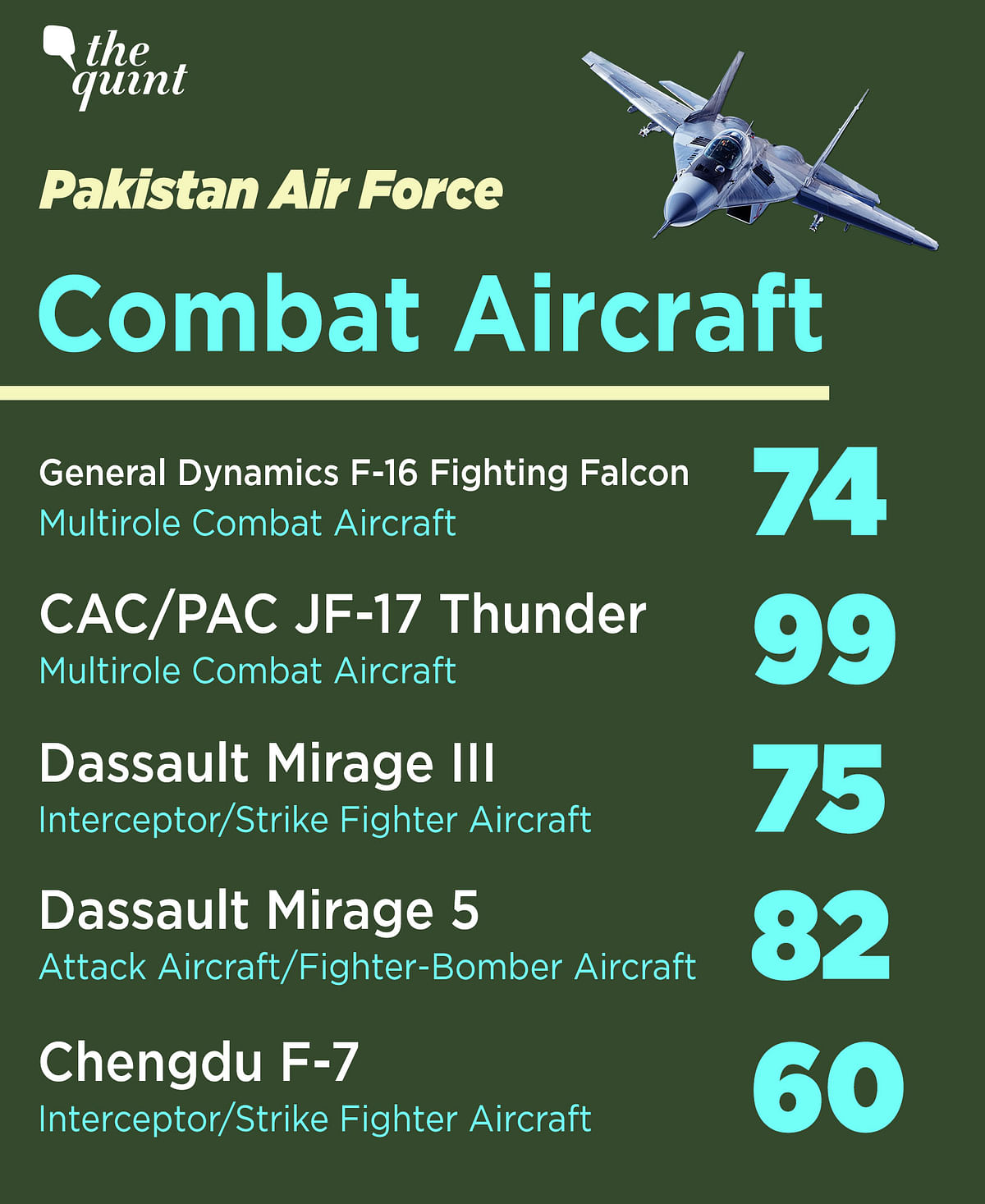 Indian Air Force vs Pak Air Force: Here's How the Numbers Stack Up