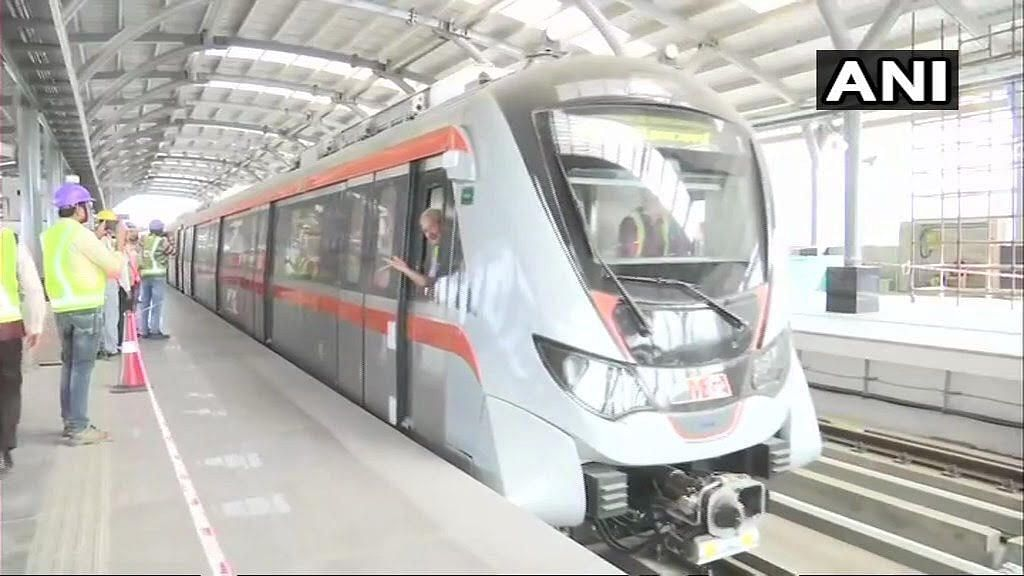 QAhmedabad: City Metro's 1st Trial Run; Min Temp to Drop Further