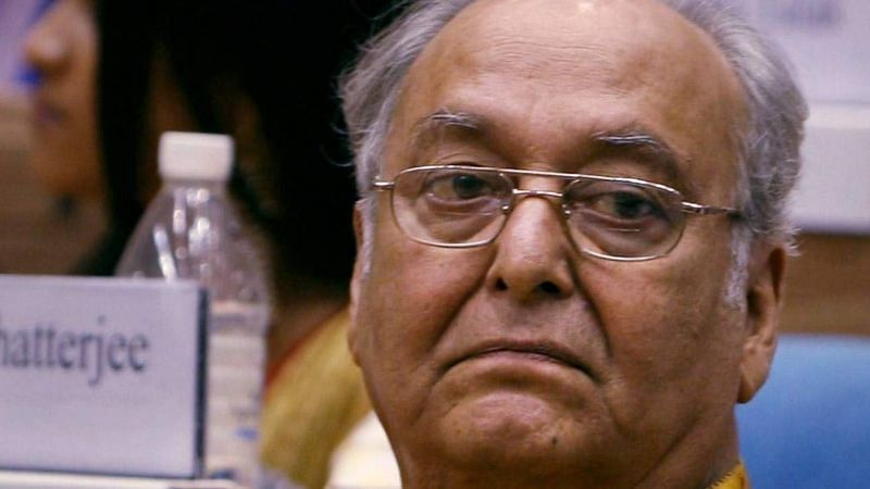 Veteran Bengali actor Soumitra Chatterjee.