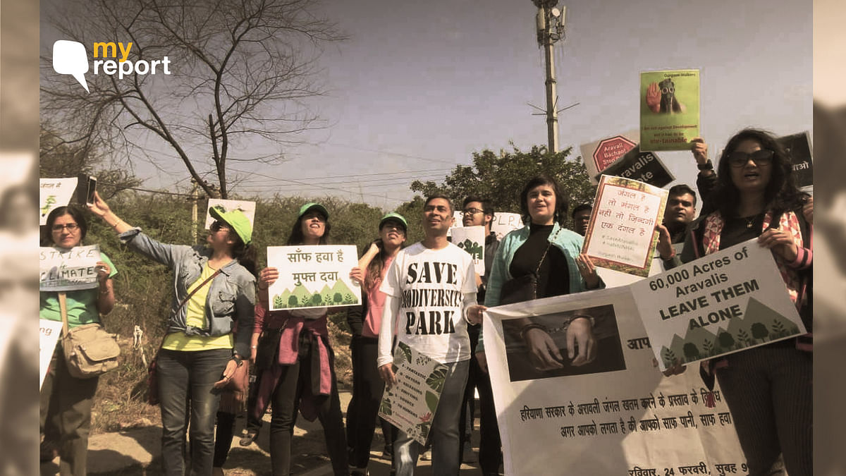 Aravalli Bachao – A War Cry of 300 Citizens to Save the Forest