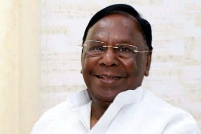 V. Narayanasamy. (File Photo: IANS)