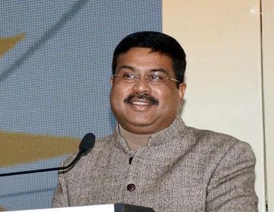 Pradhan lays foundation stone for LPG bottling plant in Odisha