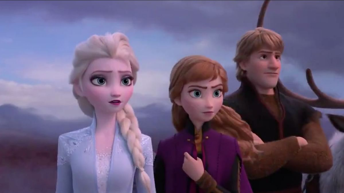 A screen grab from the trailer of 'Frozen 2'.