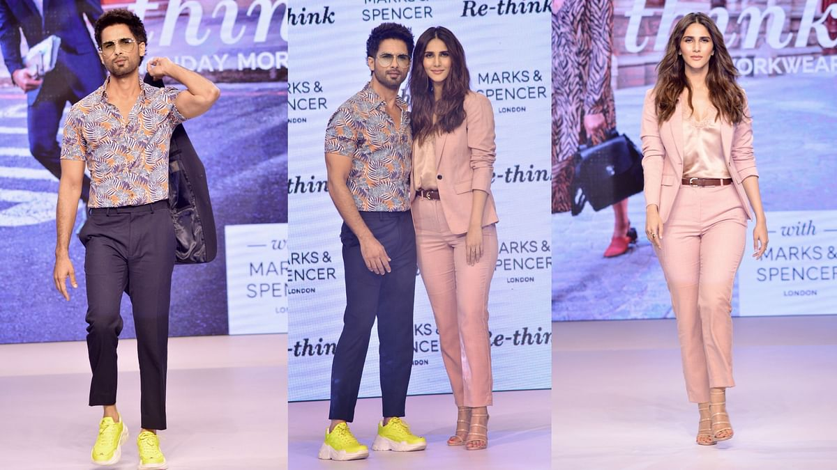 Pics: Shahid & Vaani Kapoor Scorch the Ramp at this Fashion Event