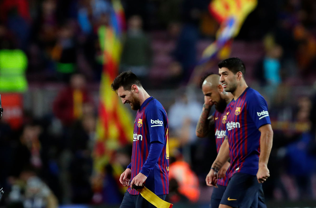 Barcelona have been held to draws in three of their last four matches heading into the first leg of their round of 16 tie at Lyon.