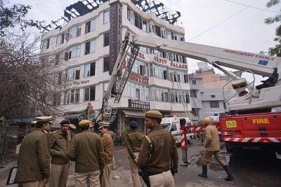 Nine people died and three injured in a major fire that broke out in Karol Bagh