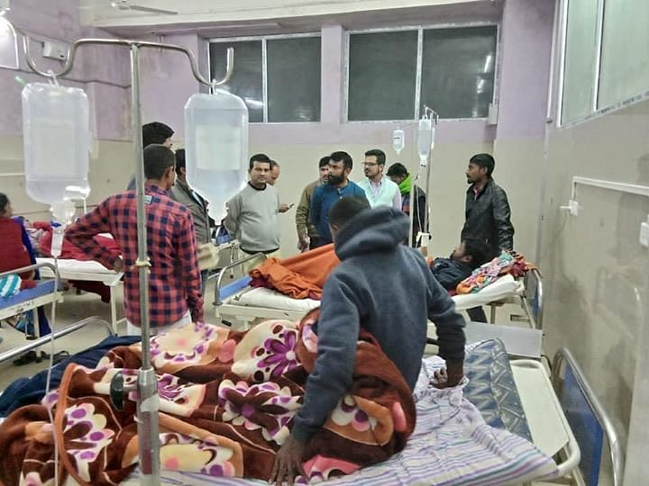 People undergoing treatment at the Jorhat hospital.