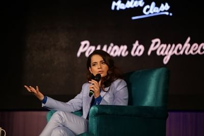 New Delhi: Actress Kangana Ranaut at Signature Masterclass session in New Delhi on Feb 3, 2019. (Photo: Amlan Paliwal/IANS)