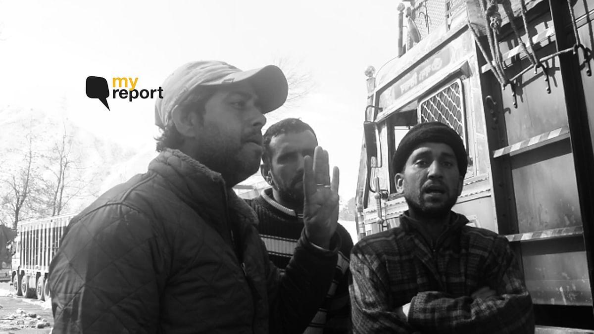 My Report: Srinagar-Jammu Highway – Truck Drivers' Lives at a Halt