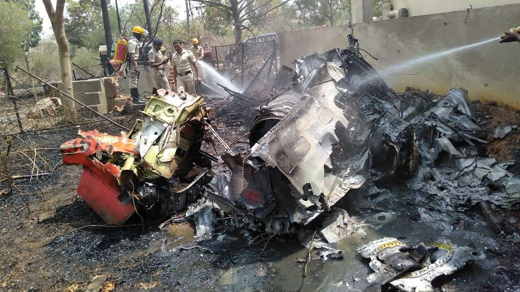 1 Pilot Dead As 2 Jets from Surya Kiran Team Collide at Aero India