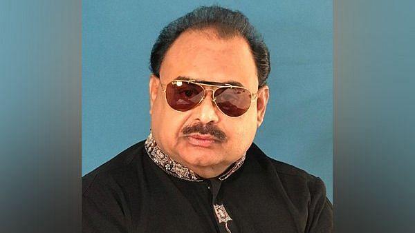 Muttahida Qaumi Movement (MQM) chief Altaf Hussain.